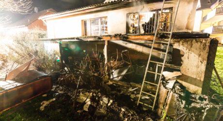 Feuerwehr verhindert Schlimmeres bei Brand in Beuerbach