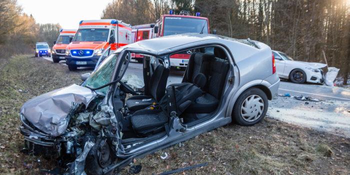 Tödlicher Frontalzusammenstoß auf der B260 bei Bad Schwalbach