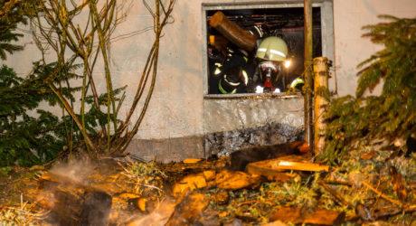 Kellerbrand in Oberjosbach schnell gelöscht