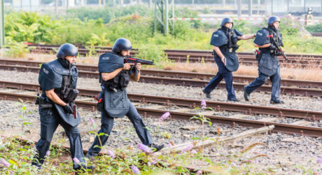 Polizei trainiert Terror-Lagen im Frankfurter Hauptbahnhof