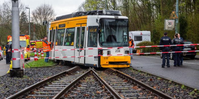 Straßenbahn entgleist in Mainz – 29 Verletzte