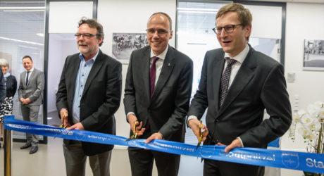 Neuer Standort der Wiesbadener Stadtpolizei eröffnet: Innenstadtwache in der Mauritiusgalerie