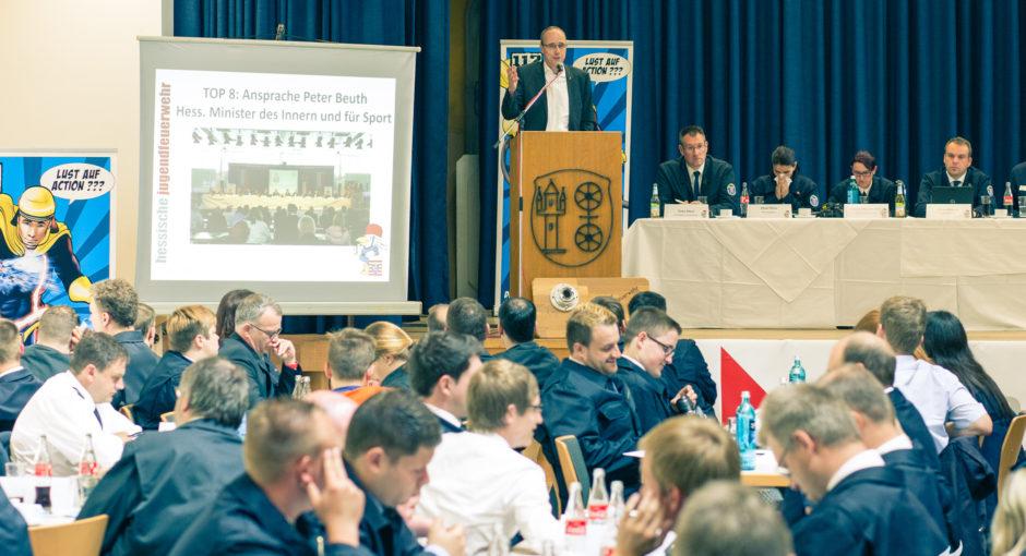 Delegierten-Wochenende der Jugendfeuerwehren aus Hessen im Rheingau