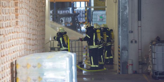 Gefahrstoffaustritt in Friedrichsdorf endet glimpflich