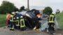 Kontrolle über Fahrzeug verloren – Ein Verletzter bei Überschlag
