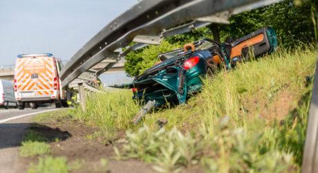 Cabrio-Unfall auf der A66 endet tödlich