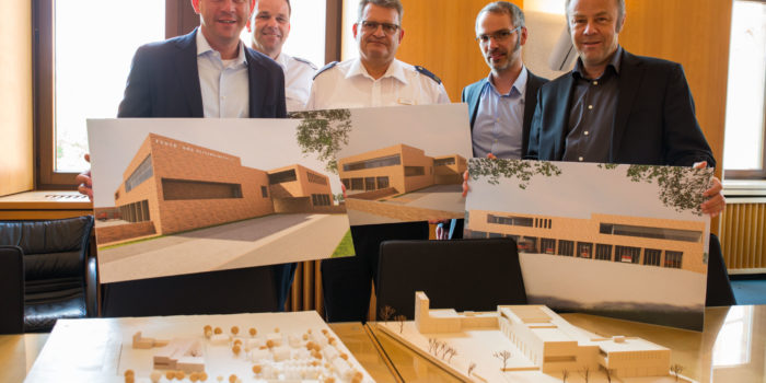 Bau der neuen Feuer- und Rettungswache Igstadt soll im Februar 2019 beginnen