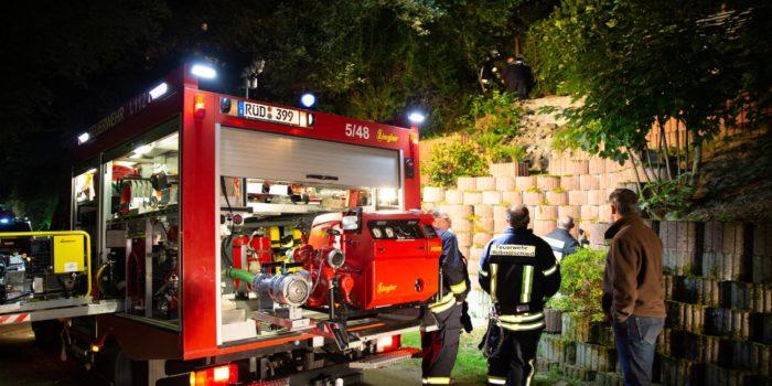 Toter bei Feuer in leerstehendem Haus in Espenschied