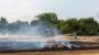 Stoppelacker in Kostheim in Flammen – Rund 10.000 Quadratmeter abgebrannt