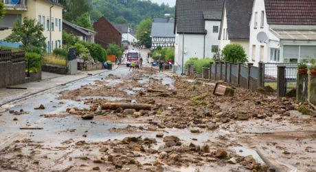 Erneut starke Regenfälle im Kreis Limburg-Weilburg