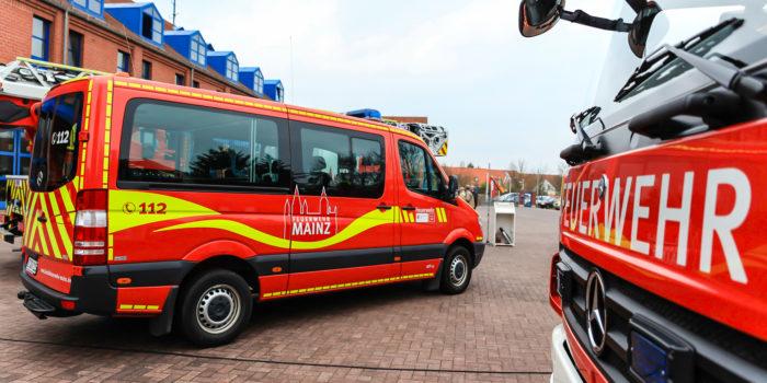 Jugendliche klauen Feuerwehrauto und machen Spritztour durch Mainz und Wiesbaden