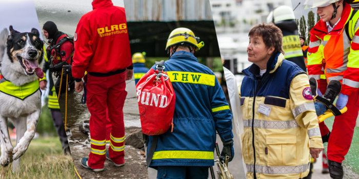 Aktionstag der Katastrophenschutzeinheiten am Sonntag rund um den Kurpark-Weiher