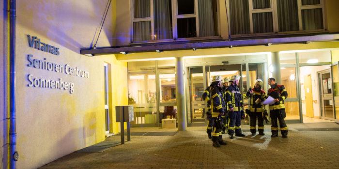 Dank Brandmeldeanlage: Feuer in Altenheim endet glimpflich