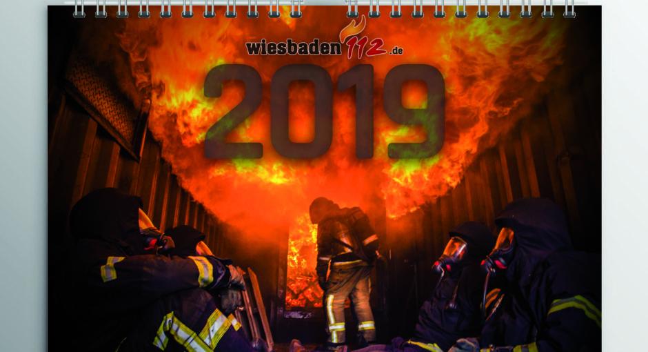 Jetzt bestellen: Der Wiesbaden112-Fotokalender für 2019