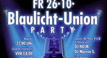Blaulicht-Union Party am 26. Oktober in Mainz – Karten jetzt bei Wiesbaden112 im Shop