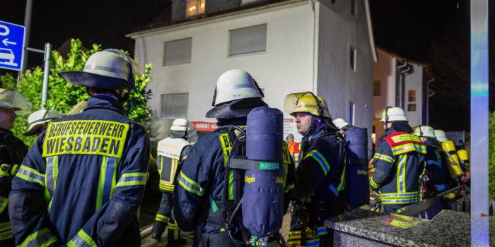 Souterrainwohnung in Schierstein in Flammen