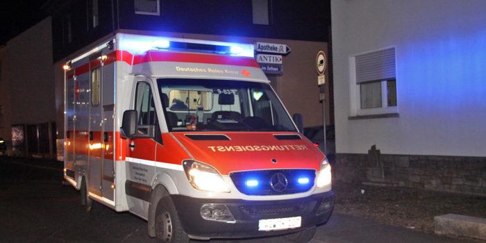 Während Einsatz: Radmuttern bei Rettungswagen gelöst