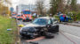 In den Gegenverkehr geraten – Zwei Schwerverletzte auf der New-York-Straße