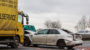 Cadillac gerät ins Schleudern – A66 nach Unfall bei Nordenstadt voll gesperrt