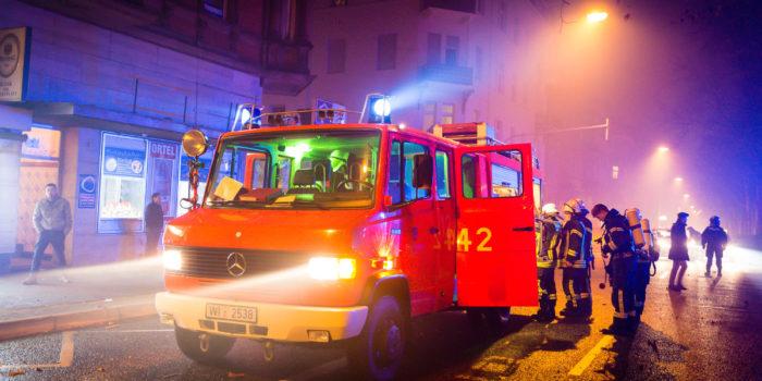 Ruhiger Jahreswechsel für die Feuerwehr Wiesbaden – Knapp 40 Einsätze