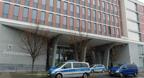 Justizzentrum in der Mainzer Straße weiträumig abgesperrt – Bombendrohung gegen bundesweit fünf Landgerichte