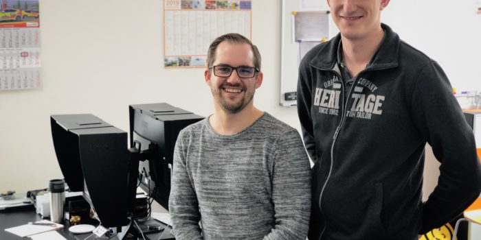 Wir vergrößern uns: Neues Büro – Zweiter hauptberuflicher Mitarbeiter
