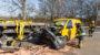 Kleintransporter prallt auf der A66 in Sattelzug – Fahrer schwer verletzt
