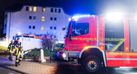 Schwerverletzte Bewohnerin nach Wohnungsbrand in Rüsselsheim