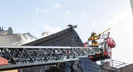Dachstuhlbrand in Binger Innenstadt – Wohnhaus unbewohnbar