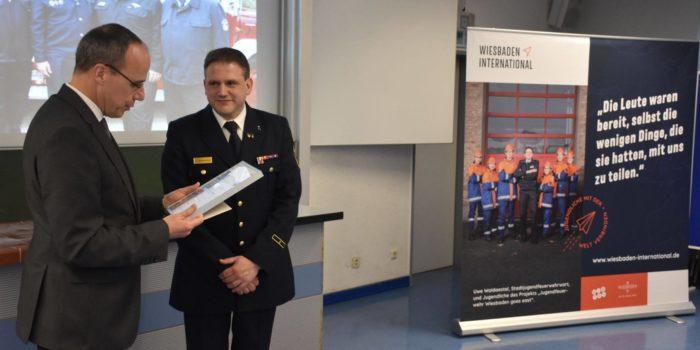 """Jugendfeuerwehr Wiesbaden ist """"Feuerwehr des Monats"""""""