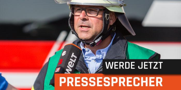 """""""Pressevertreter und Einsatzkräfte – Freund oder Feind?"""" – Presseseminar mit Interviewtraining"""
