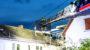 Brand einer Dachterrasse greift auf Dachgeschoss in Wiesbaden-Igstadt über