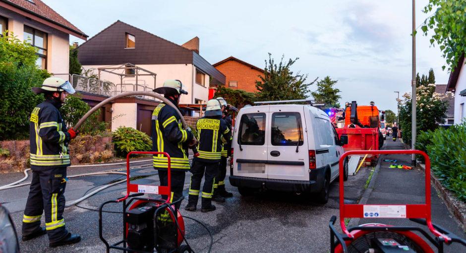 Undichtes Gasfahrzeug stellt Feuerwehr vor Herausforderung