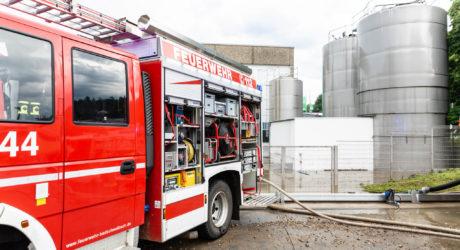 Feuerwehrwehren der Stadt Bad Schwalbach und Umgebung im Dauereinsatz – Feuerwehrstützpunkt auch stark betroffen