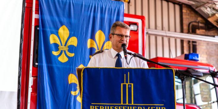 Leitender Branddirektor Harald Müller in den Ruhestand verabschiedet