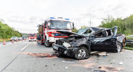 Schwerer Unfall durch Kollision auf der A3 bei Bad Camberg