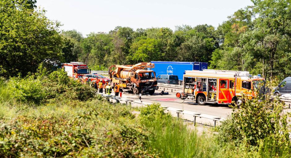 Unfallserie auf der A60 mit tödlichem Ausgang im Rückstau