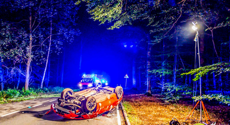 21-jähriger stirbt bei Verkehrsunfall nahe Hofheim