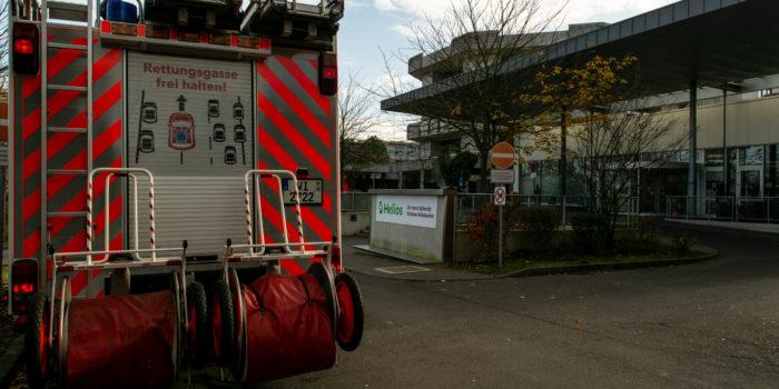 Brandgeruch in Wiesbadener Krankenhaus