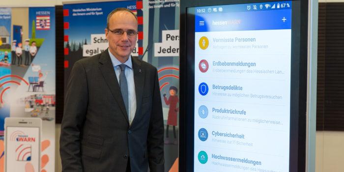 Ab jetzt verfügbar: Die hessenWARN-App – KatWarn weitergedacht