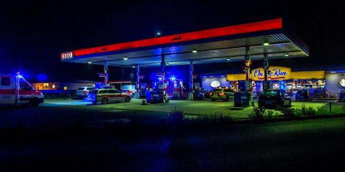 Polizeieinsatz nach Auseinandersetzung auf Rastplatz