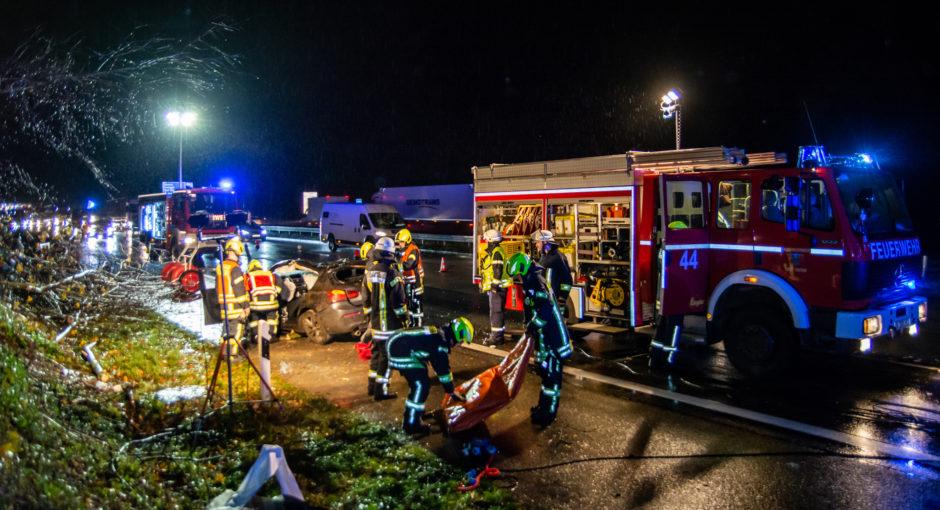Verkehrsunfall A3 bei Idstein