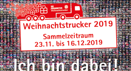Wiesbaden112 unterstützt die Johanniter Weihnachtstrucker – macht mit!