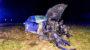 Betrunken gegen Baum gefahren – Motorblock fliegt 50 Meter weit