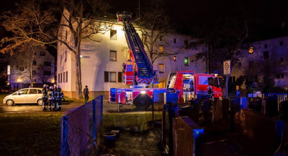 Brand in Kasteler Wohnung