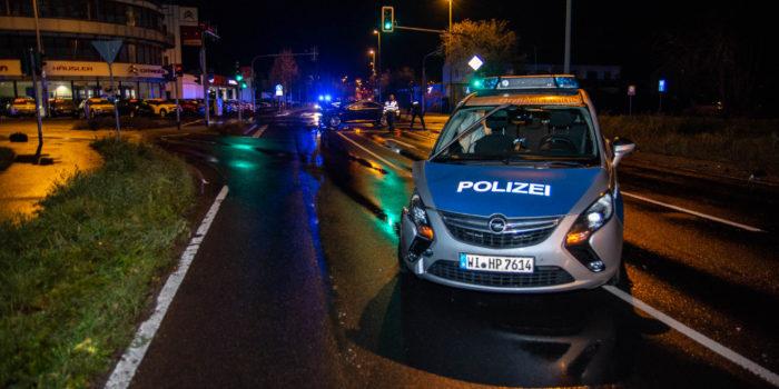 Verkehrsunfall mit Polizeiauto