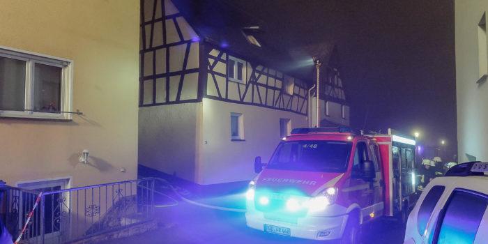 Wohnungsbrand in Rüdesheim-Presberg fordert ein Todesopfer