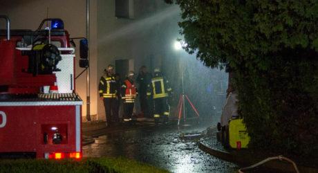 tödlicher Gebäudebrand in Heidenrod-Dickschied