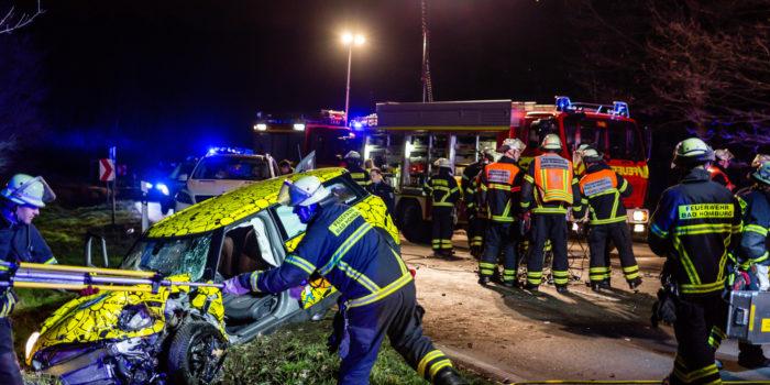 Schwerer Fontalaufprall auf der Saalburg fordert ein Todesopfer
