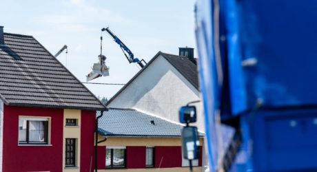 Bergung des Flugzeugwracks in Langenhahn komplizierter als gedacht
